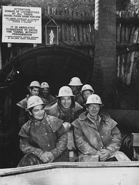 Tongariro History Italian Tunnelers